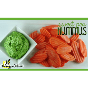 Sweet Pea Hummus {health benefits of green peas}