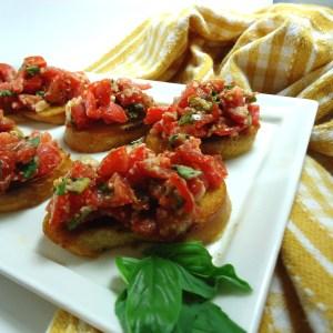 Classic, Italian Bruschetta