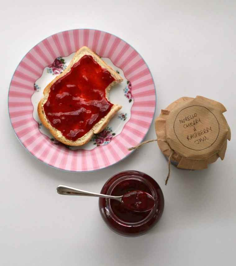 Morello Cherry & Raspberry Jam