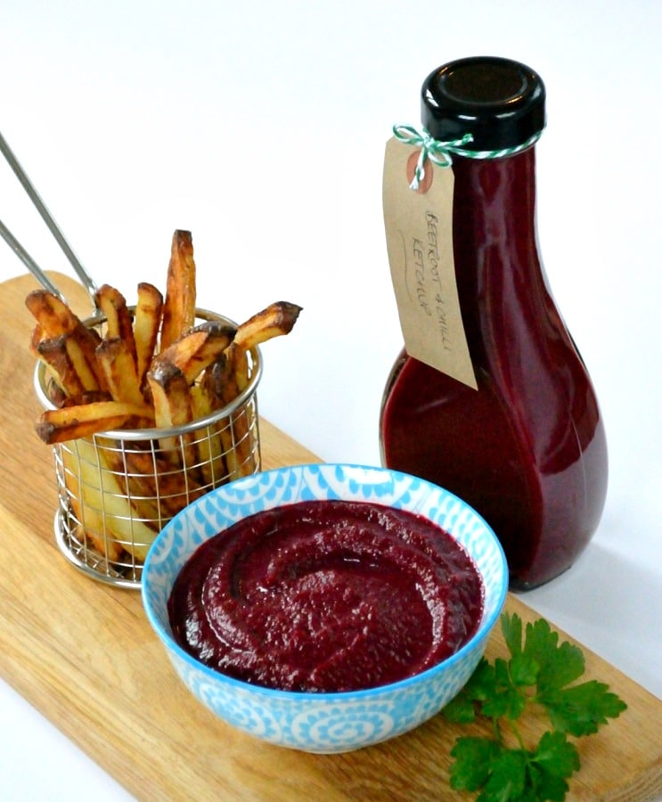 Beetroot & Chilli Ketchup