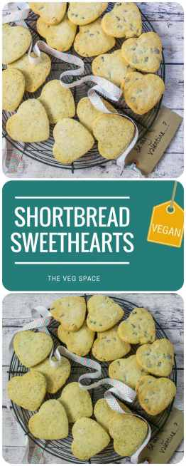 Valentine Shortbread Sweethearts (Vegan)