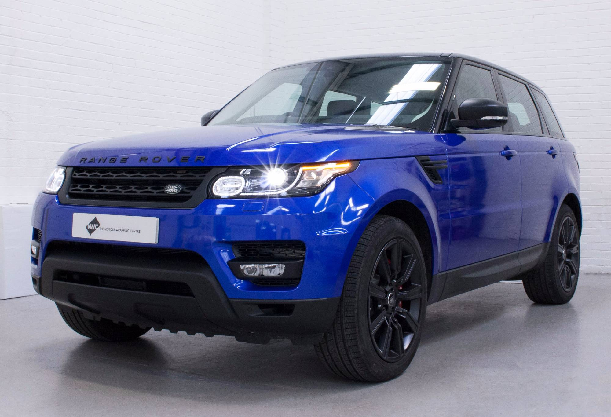 Range Rover Sport 3M Gloss Cosmic Blue Personal Vehicle Wrap Project