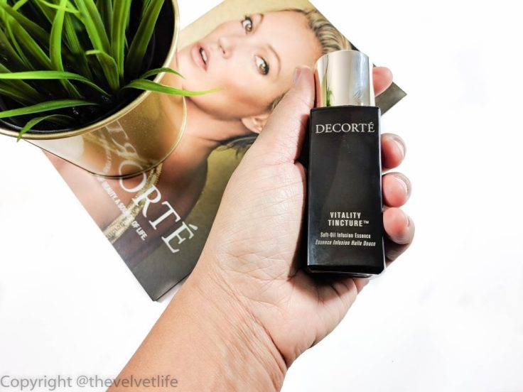 Decorte Vitality Tincture Soft-Oil Infusion Essence