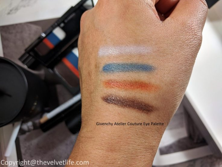 Givenchy Spring/Summer Collection 2018 - The Face Atelier review swatches