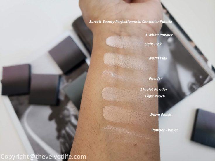 Surratt Beauty Perfectionniste Concealer Palette and Perfectionniste Complexion Brush
