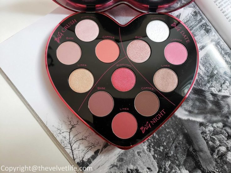 Lancome Monsieur Big eyeshadow palette, review and swatches