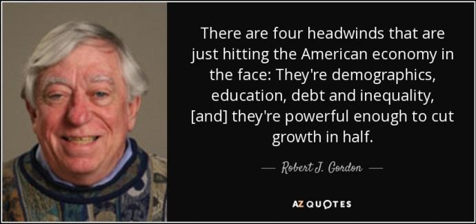 Robert J Gordon