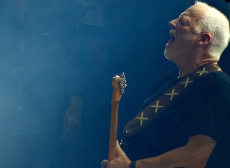 David Gilmour is de wantrouw voorbij