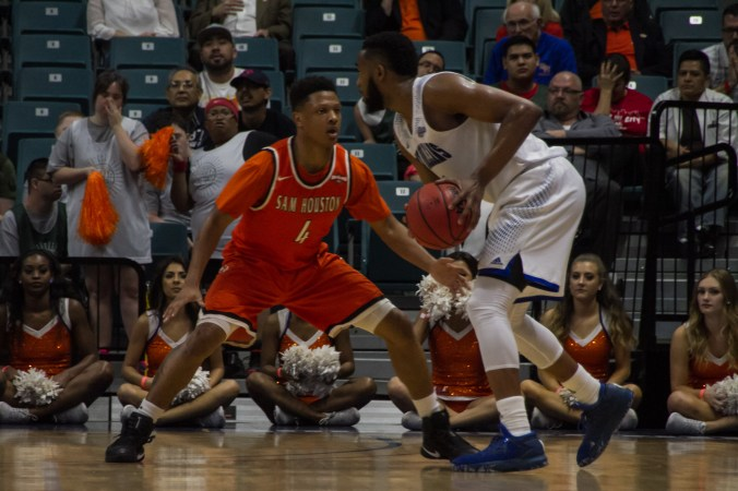 Image result for New Orleans Privateers vs Sam Houston State Bearkats basketball live