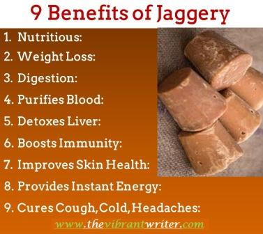 Benefits of Jaggery
