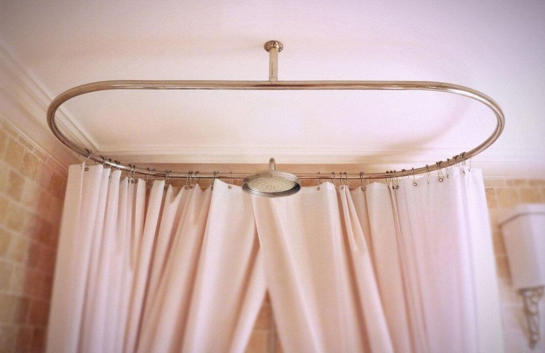 choosing a victorian shower curtain rail