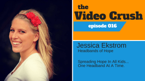 Jessica Ekstrom And Headbands Of Hope Are Working For Young Cancer Patients And A Cure