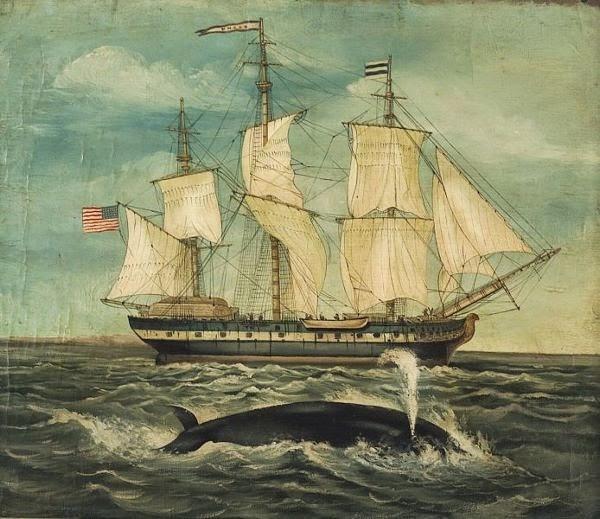 American Whaling Ship