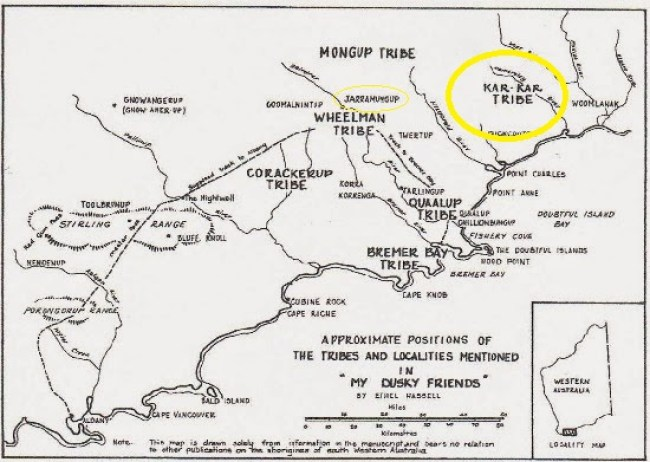 Ethel Hassel Native Map Kar-Kar