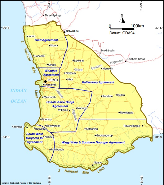 Map of the South West Native Title Settlement Agreement Areas - Govt of W.A..jpg