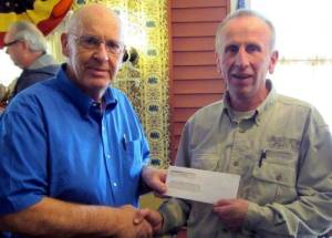 DONATION ... Please see attached donation to 4-H Camp Palmer. The caption for attached picture:  Dairy Association donates to 4-H Camp Palmer pool project! Neree Emmons, President of Fulton County Dairy Association presents a $5000 check to Chuck Wurth, Program Manager at 4-H Camp Palmer