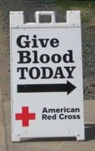 Give Blood Sign (WEB)