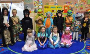 preschool trick or treat - newspaper WEB