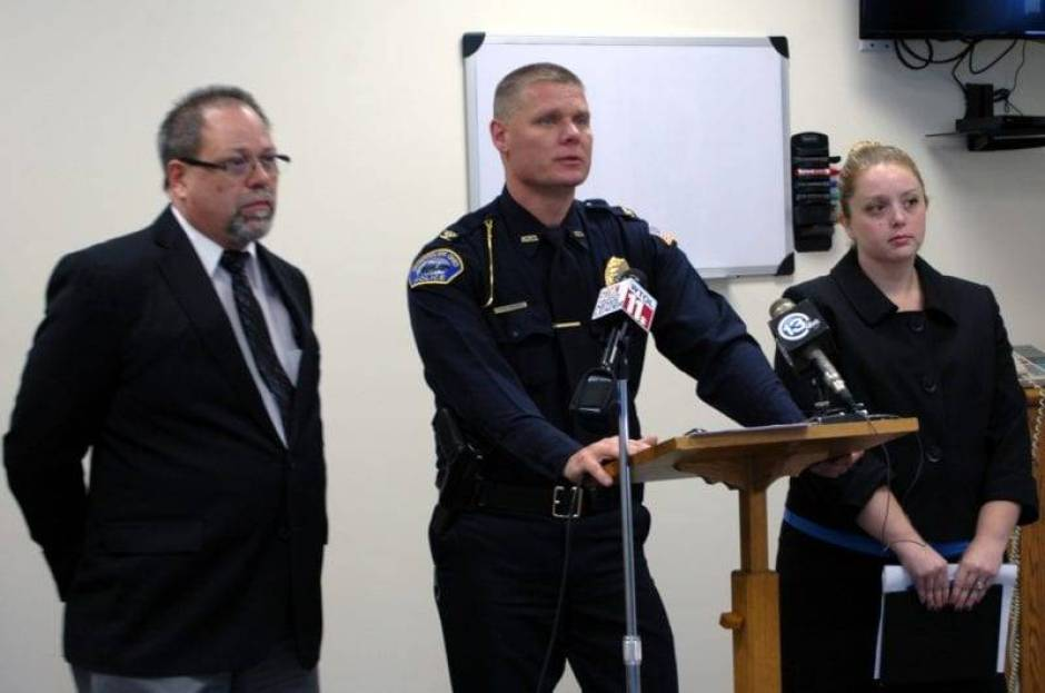 Williams County Coroner Dr. Kevin Park, Montpelier Chief of Police Dan McGee, and Williams County Prosecutor Katherine Zartman joined for a press conference at the Montpelier Police Station of Wednesday, November 11 to share information on the on-going homicide and burglary investigations in Montpelier.