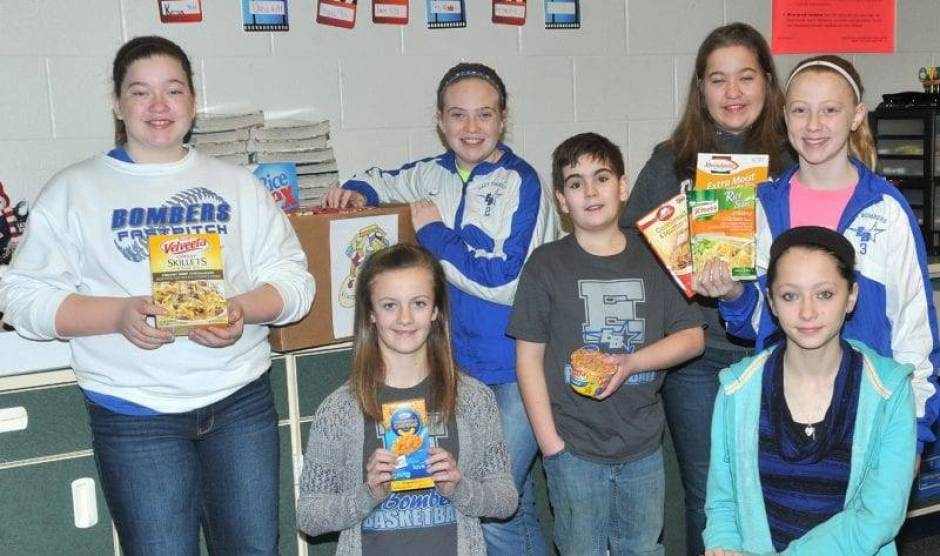 Edon 6th Grade Food Drive Feb2016 - LHF(2) WEB