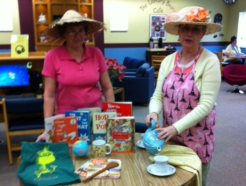 Montpelier Friends of the Library's tea WEB
