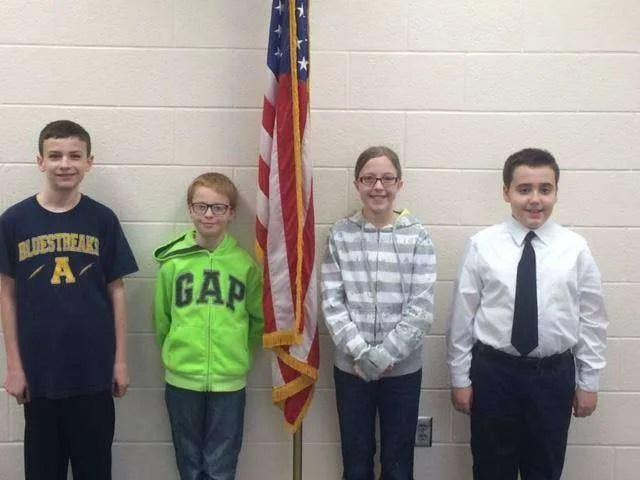 Archbold Spelling Bee Winners