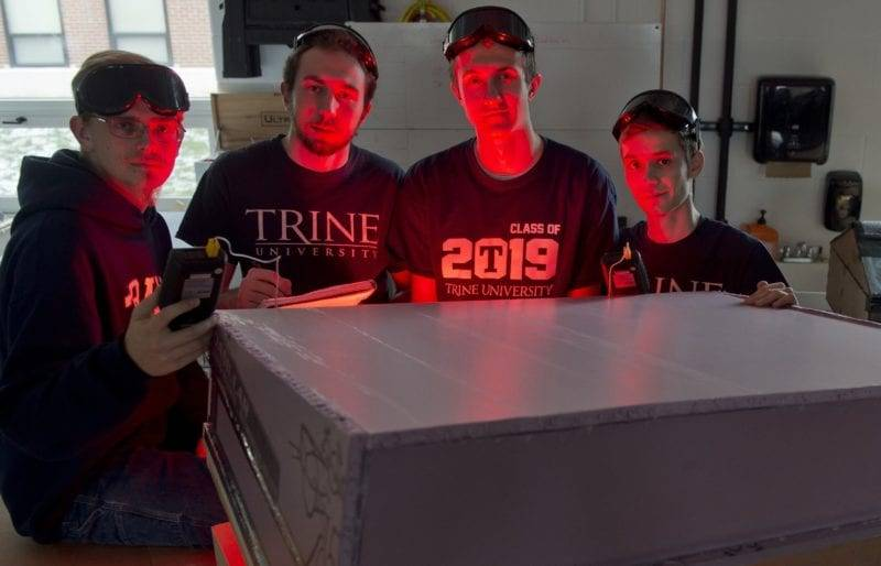 Fayette Student Part Of Winning Design Group At Trine University
