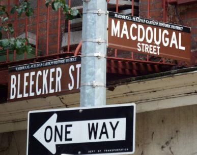 Macdougal and Bleecker