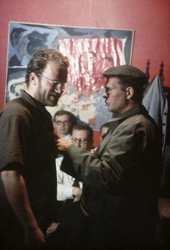Beat Scene 1959. Jack Kerouac and John Rapinic (Burt Glinn Magnum Photos)