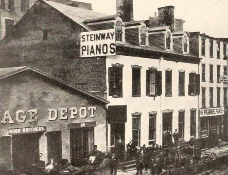 Steinway & Sons: another story of downtown immigrant success