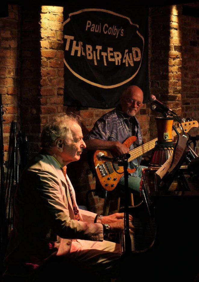 David Amram and Michael Mark at Talkin' New York Folk Revival