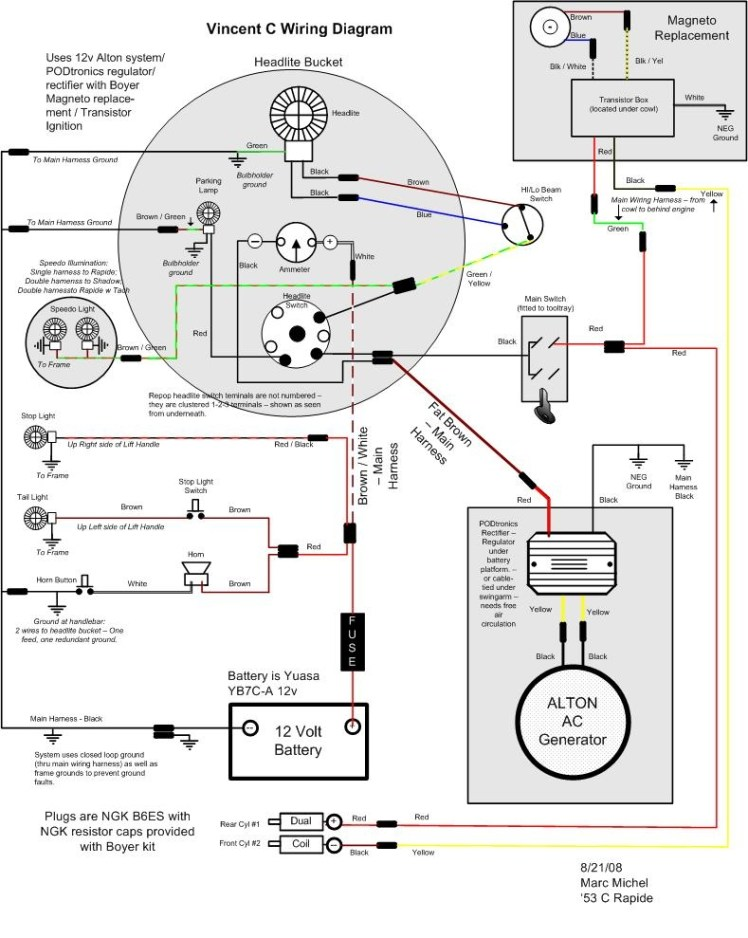 Rectifier Wiring Diagram - cancigs.com on