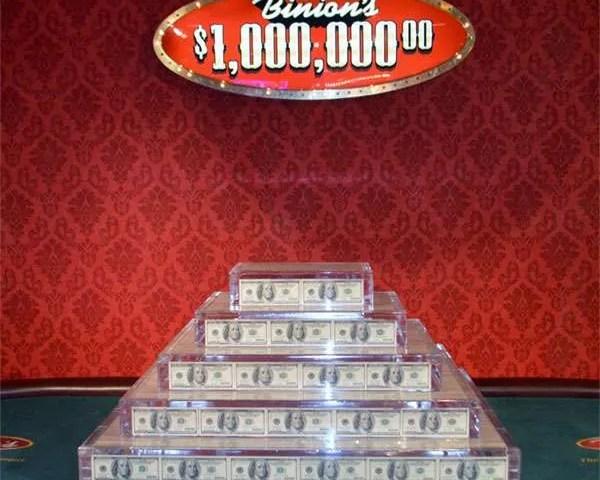 Binion's Million Dollar photo