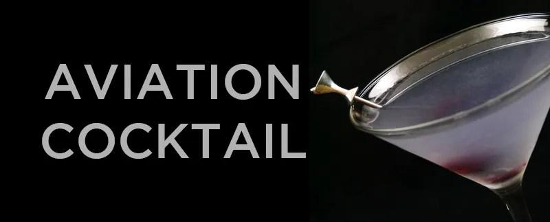 Cocktail Recipe: Aviation