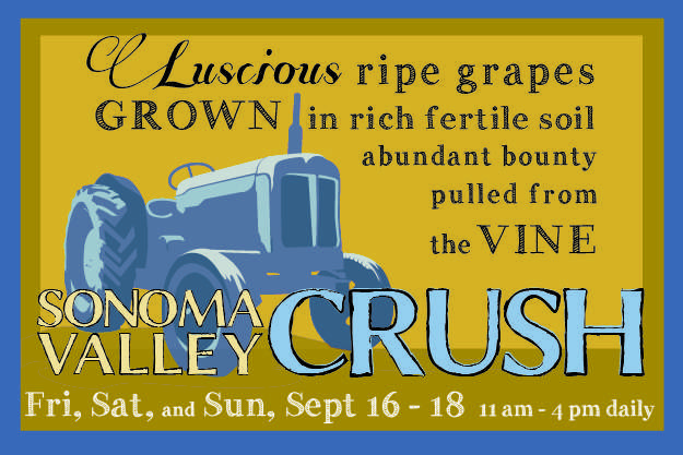 2016 Sonoma Valley CRUSH