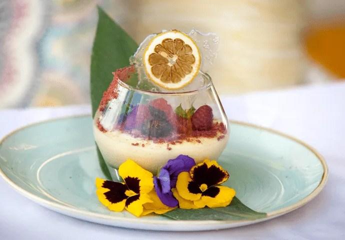 Lemon Mousse Courtesy of Seaspice's Chef Jill Montinola's
