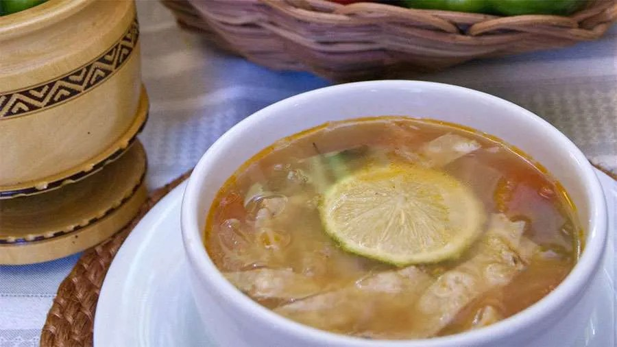 Iberostar Mexico's Lime Soup with Chicken
