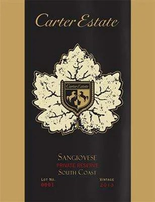 Carter Estate Sangiovese