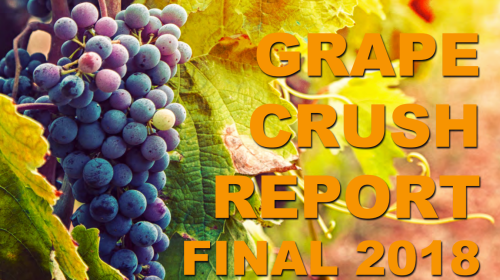 California Grape Crush Report 2018 USDA