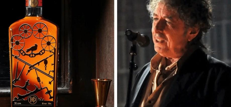Dylan with Heaven's Door Bottles