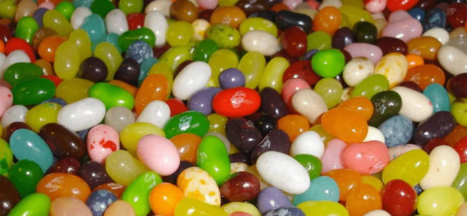Jelly Belly Jelly Beans assorted flavors to help with the tastes found in wine