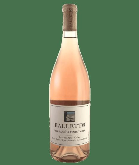 Balletto Rose Pinot Noir 2018