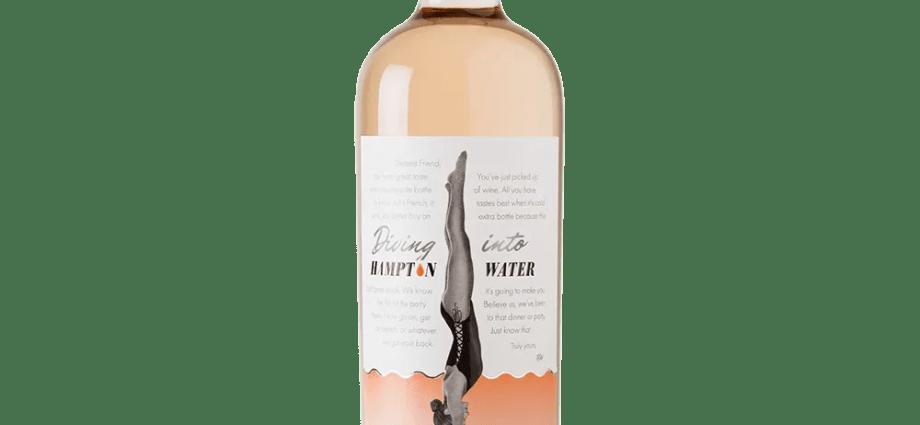 Hampton Water 2018 Rose Bottle