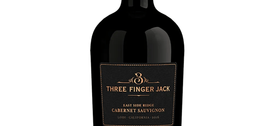 Three Finger Jack Cabernet Sauvignon 2016