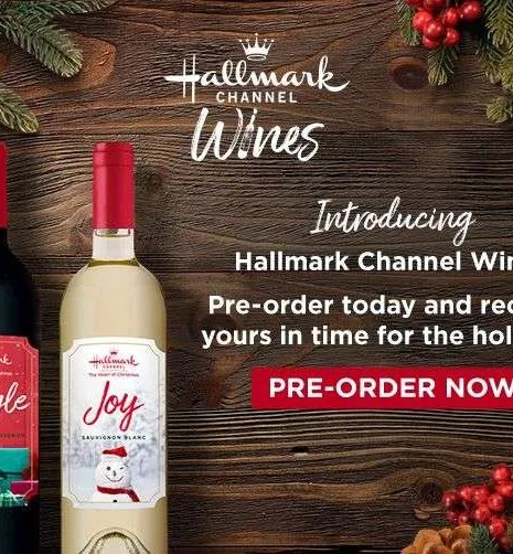 Hallmark Channel Wine Bottles