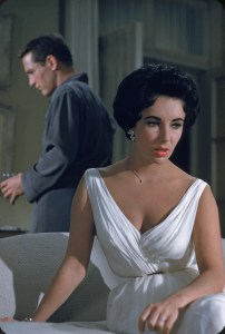 "Actors Paul Newman & Elizabeth Taylor In ""Cat On A Hot Tin Roof'"
