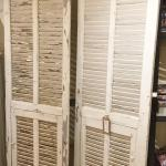 Vintage French Shutters In Decorative Items
