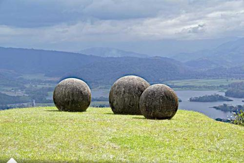 Stone spheres. Rock Formation in Costa Rica, North America. source