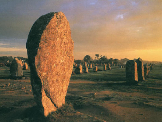 CARNAC Menhirs. source