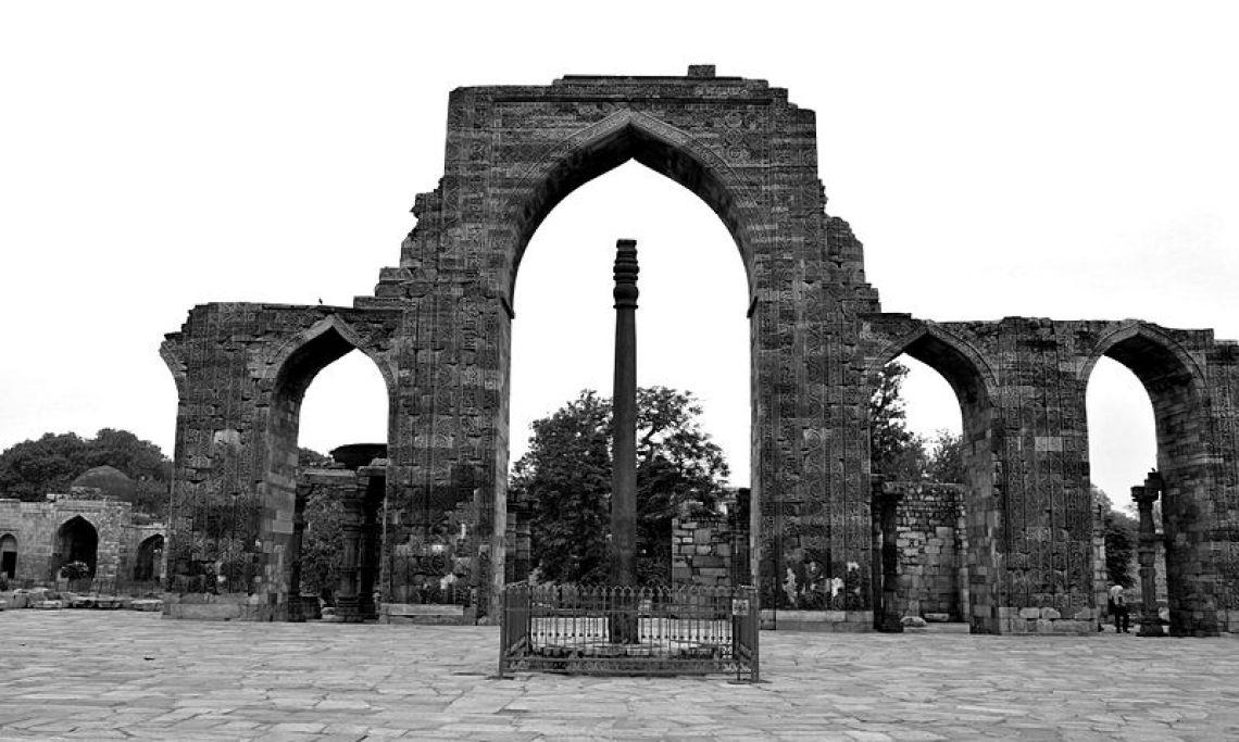 Image result for 5. The Iron Pillar, Delhi